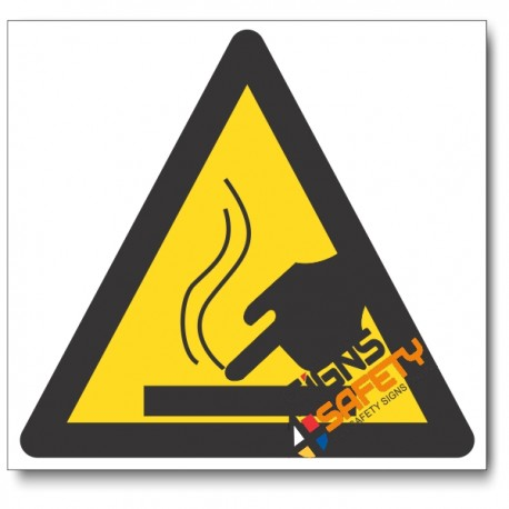 Hot Surface Hazard Sign
