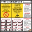 (ES2) Electrical Sub-Station / Substasie Sign