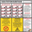 (ES3) Electrical Sub-Station / Substasie Sign