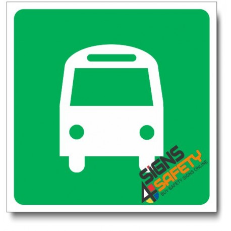 (IN114) Bus Station Sign