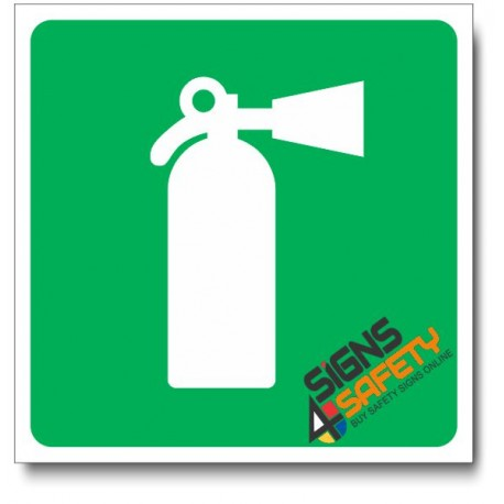 (IN117) Fire Extinguisher Sign