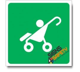 (IN123) Stroller Sign