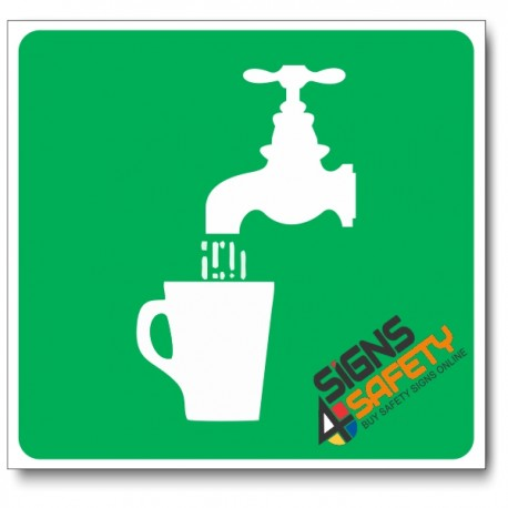 (GA6) Drinking Water Sign