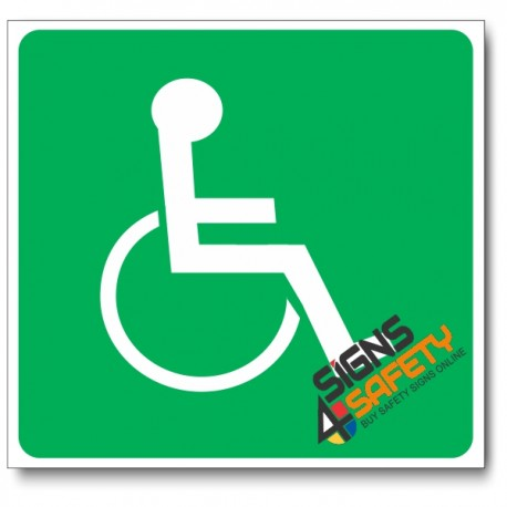 (GA22) Wheel Chair Sign