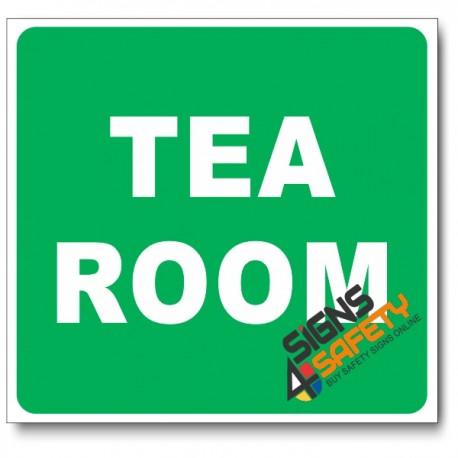 (GA23) Tea Room Sign