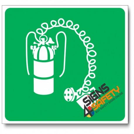 (GA24) Breathing Apparatus Sign
