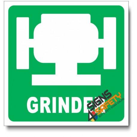 (IN1) Grinder Sign
