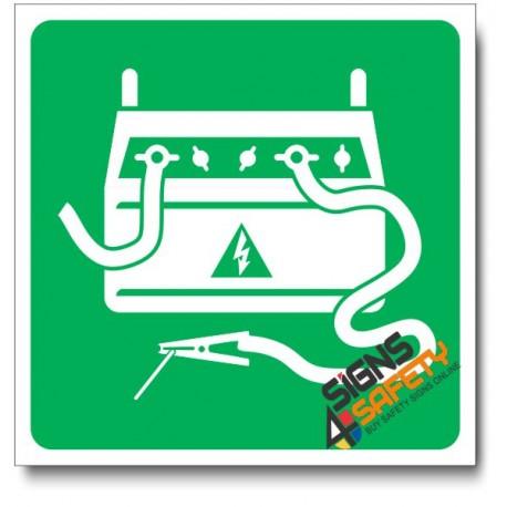 (IN3) Arc Welder Sign