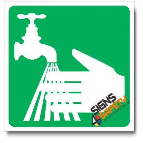 (IN5) Hand Wash Sign
