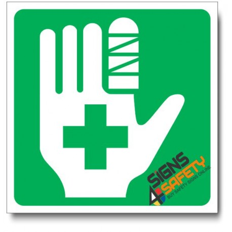 (IN7) First Aid Sign