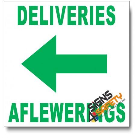 (IN14) Deliveries Left Sign