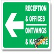 (IN19) Reception & Offices Left Sign