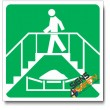 (IN30) Safe Walkway Sign