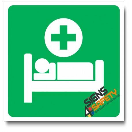 (IN31) Sickbay Sign