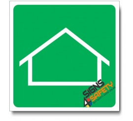 (IN37) Housing Area Sign