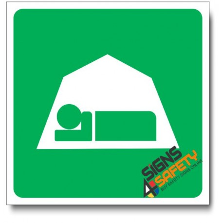 (IN43) Accommodations Tent Sign  sc 1 st  Signs4Safety & IN43) Accommodations Tent Sign - Signs4Safety