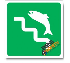 (IN75) Surf Fishing Sign
