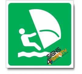 (IN80) Wind Surfing Sign