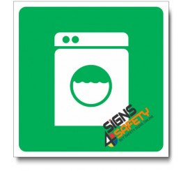 (IN98) Laundry Sign