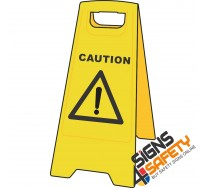 (A-F7) Caution - Floor Stand