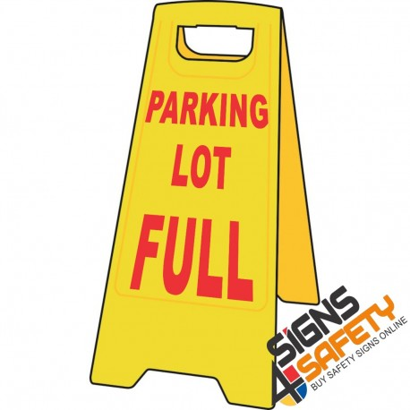 (A-F17) Parking Lot Full - Floor Stand