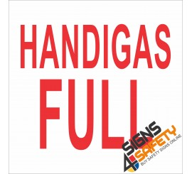(G3) Handigas Full Sign