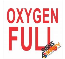 (G5) Oxygen Full Sign