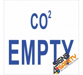 (G8) CO2 Empty Sign
