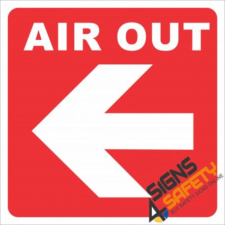 (G11) Air Out Sign