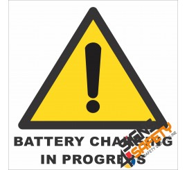 (G21) Battery Charging In Progress Sign