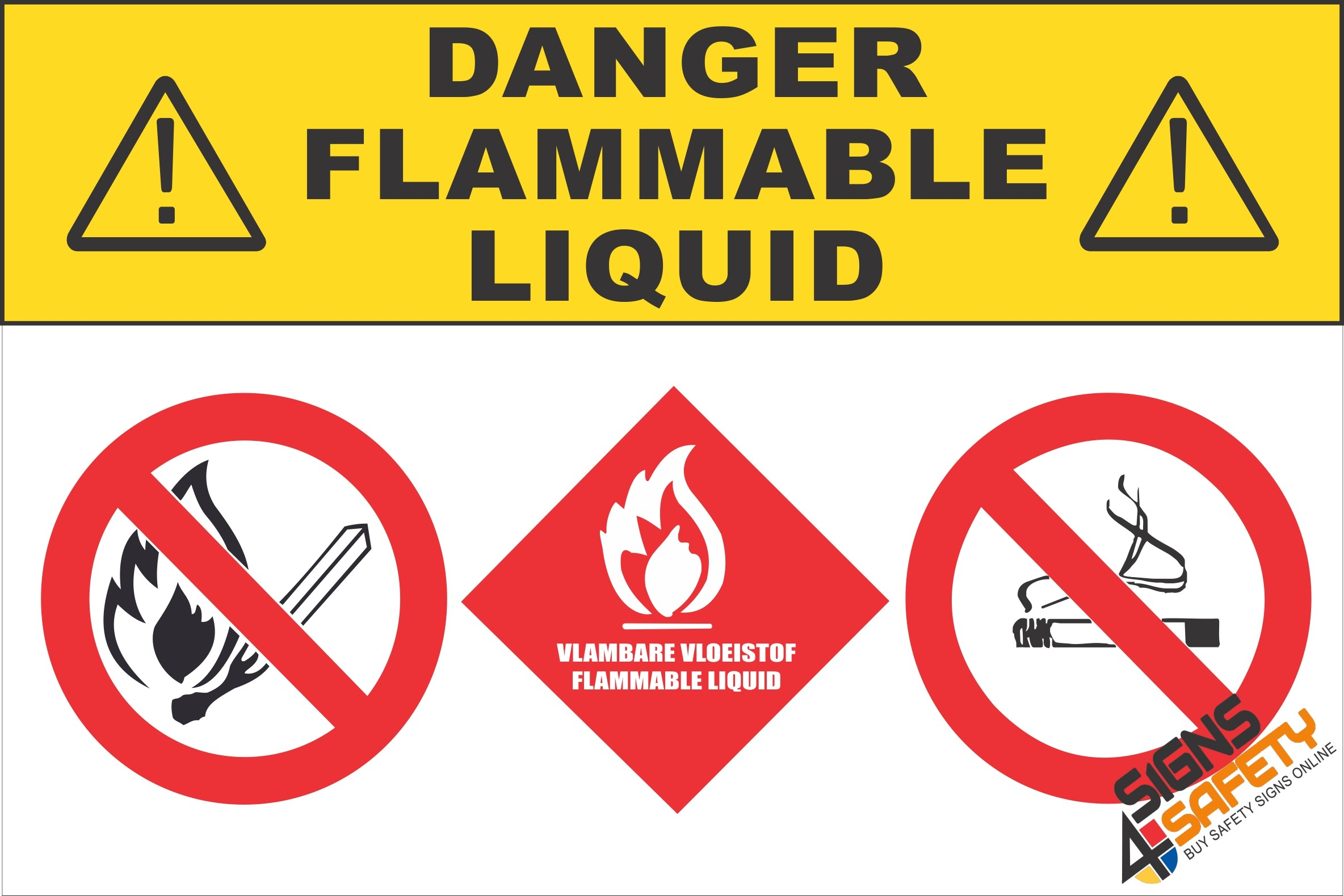 Nosa sabs gas safety signs south africa signs4safety g20 danger flammable liquids sign buycottarizona
