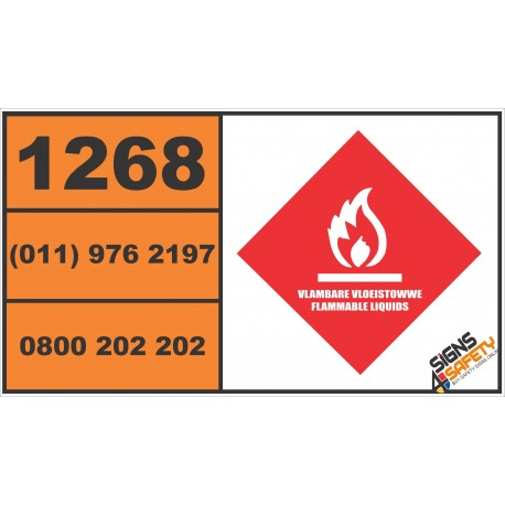 (G28) Hazchem Vehicle Safety Sign