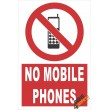 (PE5) No Mobile Phones / Electrical Sign
