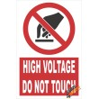 (PE8) High Voltage Do Not Touch / Electrical Sign