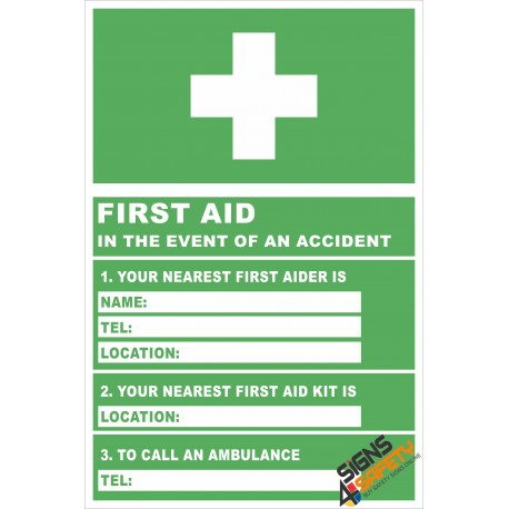 (FE5) Location Of First Aider / First Aid Sign