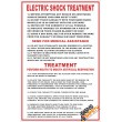 (FA5) Electric Shock Treatment First Aid Sign