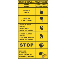 (FM46) Crane Signal Sticker