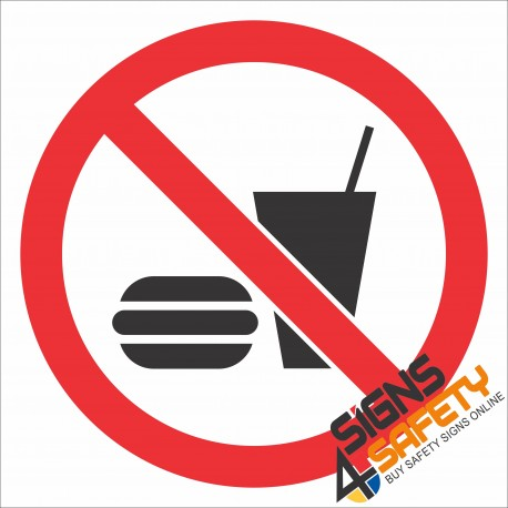 (PR9) No Food Sign