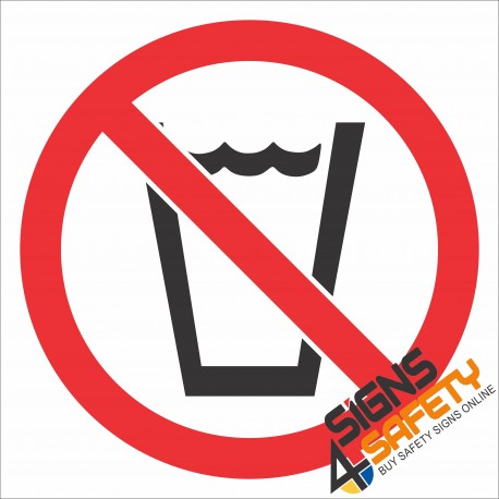 (PR28) No Washing Sign