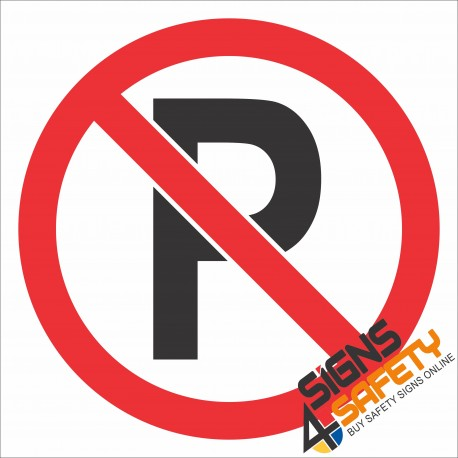 (PR40) No Parking Sign