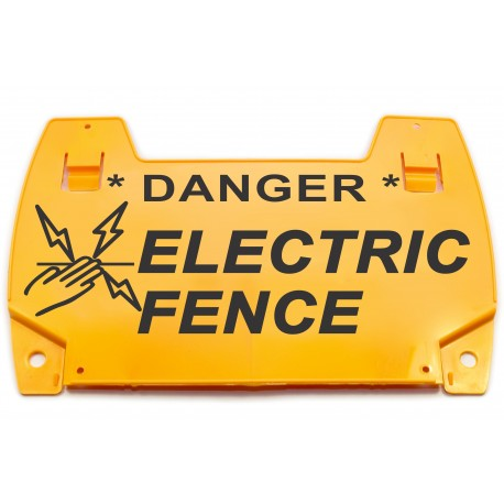 (EW35) Clip On Electric Fence Sign