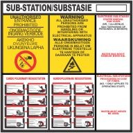 Substation Signs