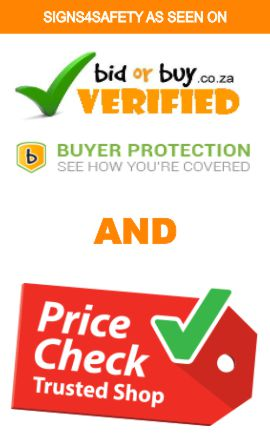 Signs4safety on Bidorbuy and Pricecheck