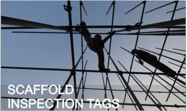 Scaffold Safe / Unsafe Inspection Tags